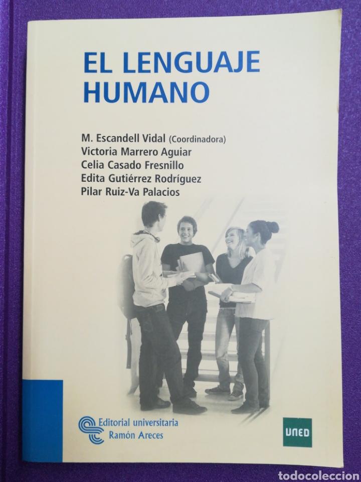 EL LENGUAJE HUMANO UNED (Libros Nuevos - Libros de Texto - Ciclos Formativos - Grado Medio)