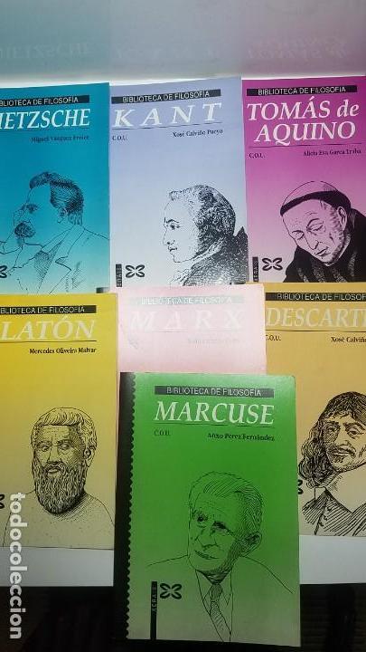 BIBLIOTECA DE FILOSOFIA DE COU. COLECCION 7 LIBROS. XERAIS (Libros Nuevos - Libros de Texto - Bachillerato)