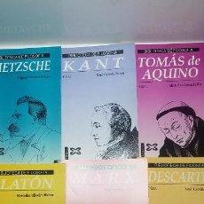 Libros: BIBLIOTECA DE FILOSOFIA DE COU. COLECCION 7 LIBROS. XERAIS. Lote 141129970