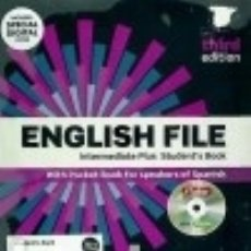 Libros: ENGLISH FILE 3RD EDITION INTERMEDIATE PLUS. STUDENT'S BOOK ITUTOR PUPIL BOOK A PACK. Lote 142840816