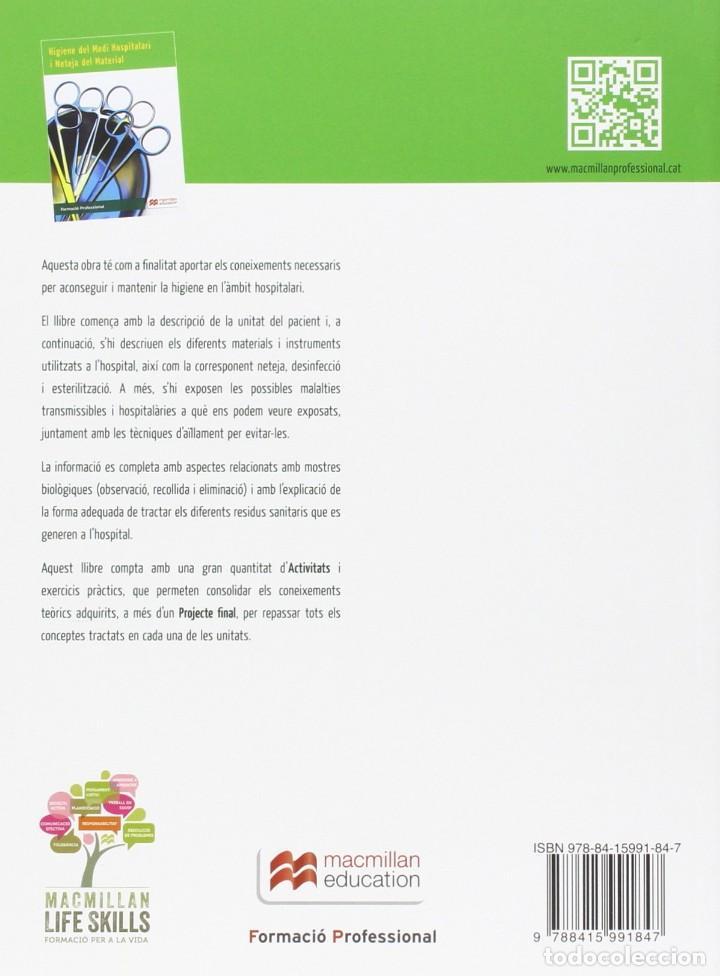 Libros: HIGIENE DEL MEDI HOSPITALARI I NETEJA DEL MATERIAL CFGM (2017) - A. LOPEZ - ISBN 9788415991847 - Foto 2 - 143193374