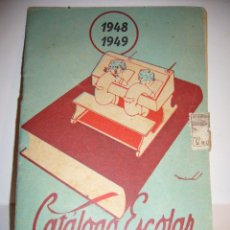 Libros: CATALOGO DE ESCUELAS. Lote 148443122