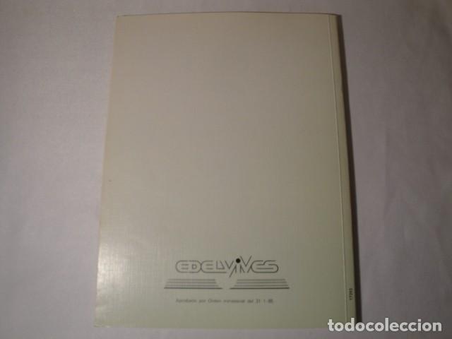 Libros: Solucionario-Guía Ciencias de la Naturaleza 7º E.G.B. Editorial Luis Vives. Año 1985 - Foto 6 - 148765490