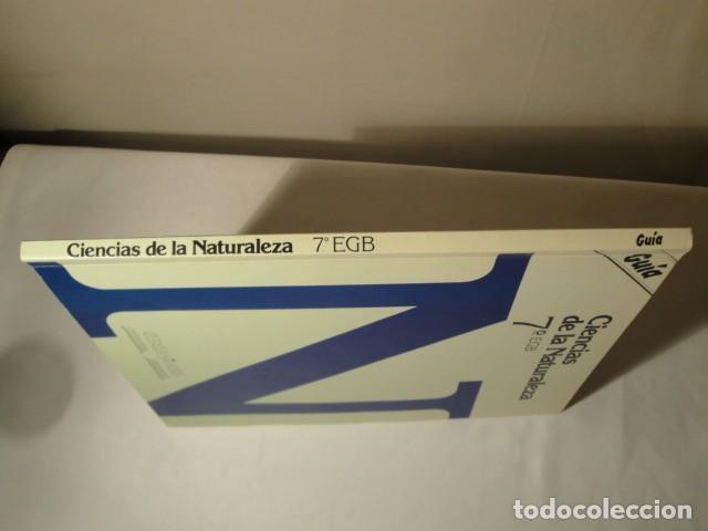 Libros: Solucionario-Guía Ciencias de la Naturaleza 7º E.G.B. Editorial Luis Vives. Año 1985 - Foto 7 - 148765490
