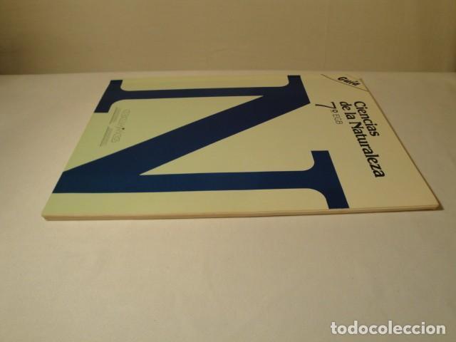 Libros: Solucionario-Guía Ciencias de la Naturaleza 7º E.G.B. Editorial Luis Vives. Año 1985 - Foto 9 - 148765490