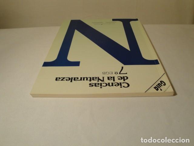 Libros: Solucionario-Guía Ciencias de la Naturaleza 7º E.G.B. Editorial Luis Vives. Año 1985 - Foto 10 - 148765490