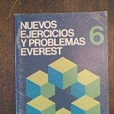 Libros: NUEVOS EJERCICIOS Y PROBLEMAS EVEREST 6. 6ª EDICIÓN. SIN USO.. Lote 149476370
