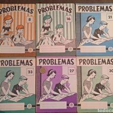 Libros: PROBLEMAS 8, 16, 21, 23, 27, 30. EDELVIVES.. Lote 149481208