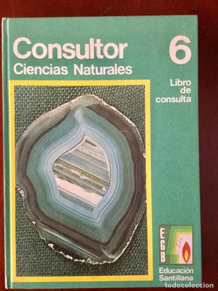 CONSULTOR. CIENCIAS NATURALES. SANTILLANA. AÑO: 1973. NUEVO (Libros Nuevos - Libros de Texto - Ciclos Formativos - Grado Medio)