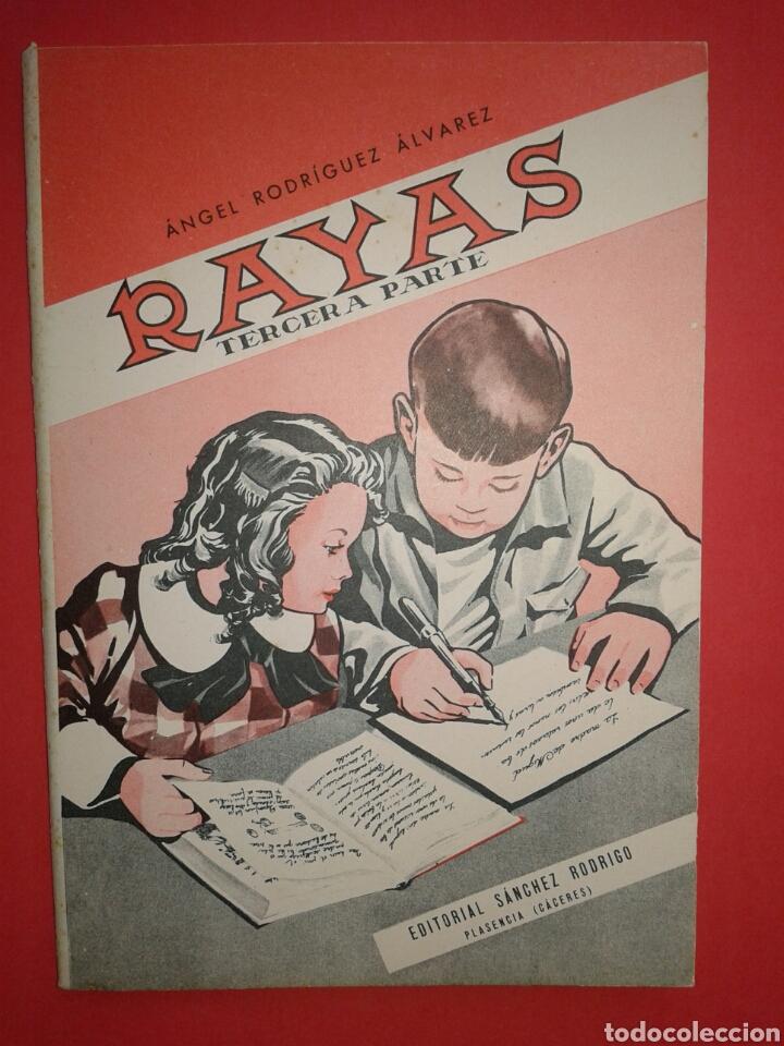 RAYAS CUADERNO DE ESCRITURA ESCOLAR 1961 (Libros Nuevos - Libros de Texto - Infantil y Primaria)