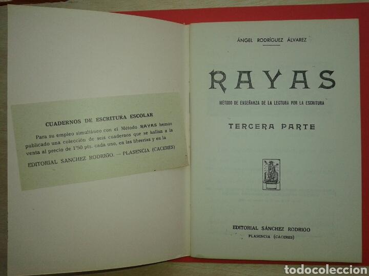 Libros: RAYAS CUADERNO DE ESCRITURA ESCOLAR 1961 - Foto 2 - 150825101