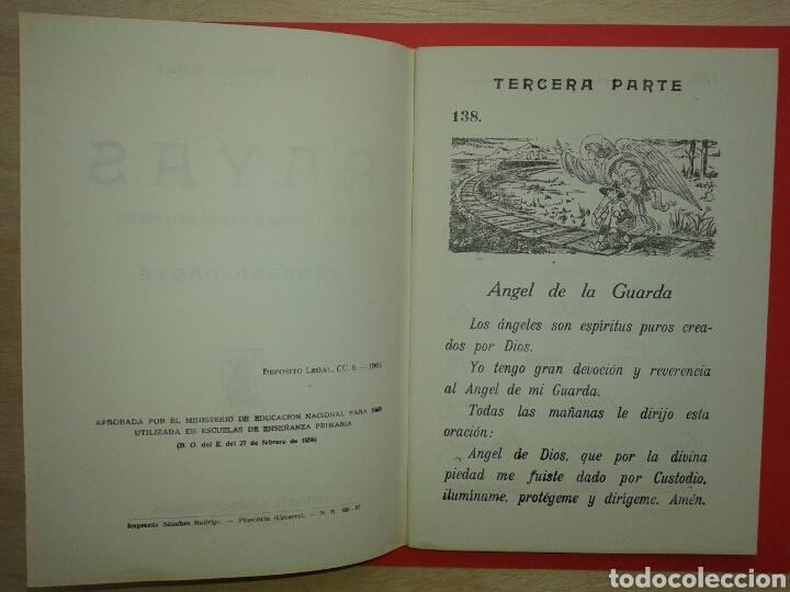 Libros: RAYAS CUADERNO DE ESCRITURA ESCOLAR 1961 - Foto 3 - 150825101