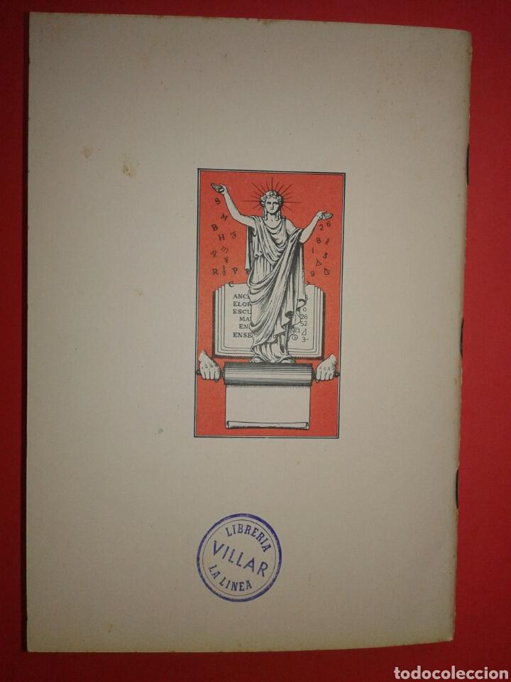 Libros: RAYAS CUADERNO DE ESCRITURA ESCOLAR 1961 - Foto 7 - 150825101