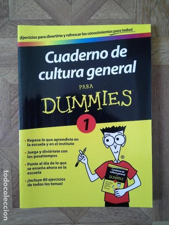 CUADERNO DE CULTURA GENERAL PARA DUMMIES 1 (Libros Nuevos - Libros de Texto - ESO)