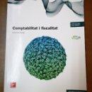 Libros: COMPTABILITAT I FISCALITAT GRAU SUPERIOR-ELENA LASA ZULUAGA-MCGRAW HILL EDUCATION 1ªEDICION CATALAN. Lote 155818050