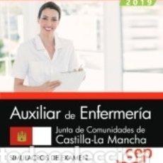 Libros: AUXILIAR DE ENFERMERÍA. JUNTA DE COMUNIDADES DE CASTILLA-LA MANCHA. SIMULACROS DE EXAMEN. Lote 159354765