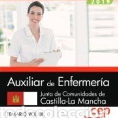 Libros: AUXILIAR DE ENFERMERÍA. JUNTA DE COMUNIDADES DE CASTILLA-LA MANCHA. TEMARIO VOL. III. Lote 159354852