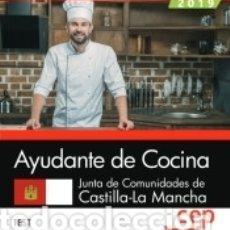 Libros: AYUDANTE DE COCINA. JUNTA DE COMUNIDADES DE CASTILLA-LA MANCHA. TEST. Lote 159354872