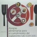 Libros: ALERGIAS ALIMENTARIAS PARA EL CUMPLIMIENTO DEL REGLAMENTO (UE) 1169/2011. CUADERNO DE EJERCICIOS.. Lote 160262332