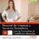 Libros: PERSONAL DE LIMPIEZA Y SERVICIOS DOMÉSTICOS. JUNTA DE COMUNIDADES DE CASTILLA-LA MANCHA. SIMULACROS. Lote 160801962