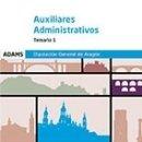 Libros: TEMARIO 1 AUXILIARES ADMINISTRATIVOS DE LA DIPUTACIÓN GENERAL DE ARAGÓN. Lote 160932450