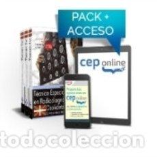 Libros: PACK DE LIBROS Y ACCESO GRATUITO. TÉCNICO ESPECIALISTA RADIODIAGNÓSTICO. SERVICIO VASCO DE. Lote 162710957