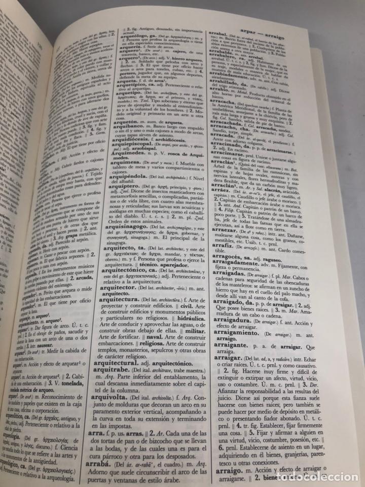 Libros: Diccionario de la lengua española Real Academia Española 1984 - Foto 4 - 163392146
