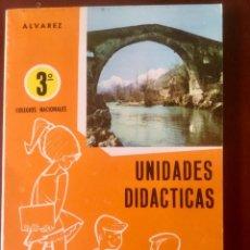 Libros: UNIDADES DIDACTICAS 3º EGB. ALVAREZ-MIÑON. ORIGINAL. 1989. NUEVO SIN USAR. Lote 164730590