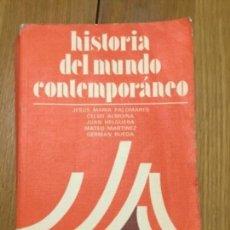 Libros: HISTORIA DEL MUNDO CONTEMPORANEO ANAYA COU. Lote 164834038