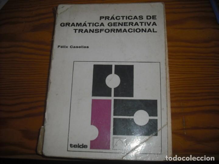 PRACTICAS DE GRAMÁTICA GENERATIVA TRANSFORMACIONAL (Libros Nuevos - Libros de Texto - Bachillerato)