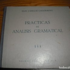 Libros: ANÁLISI MORFOLÓGICO. Lote 167012864