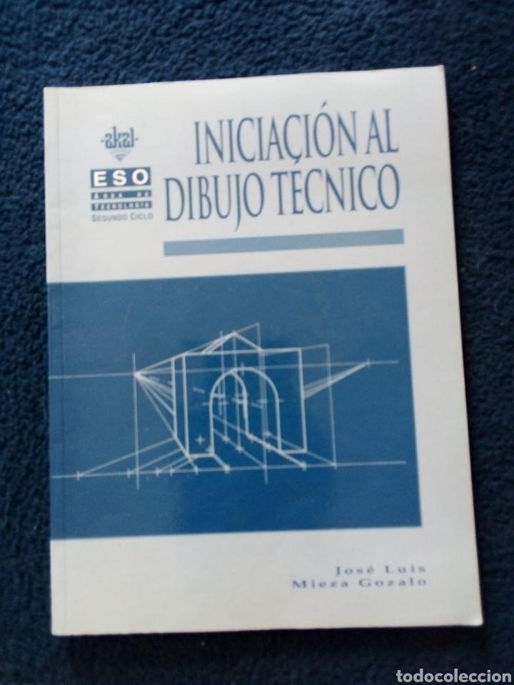 INICIACIÓN DIBUJO TÉCNICO ESO AÑO 1998 (Libros Nuevos - Libros de Texto - ESO)