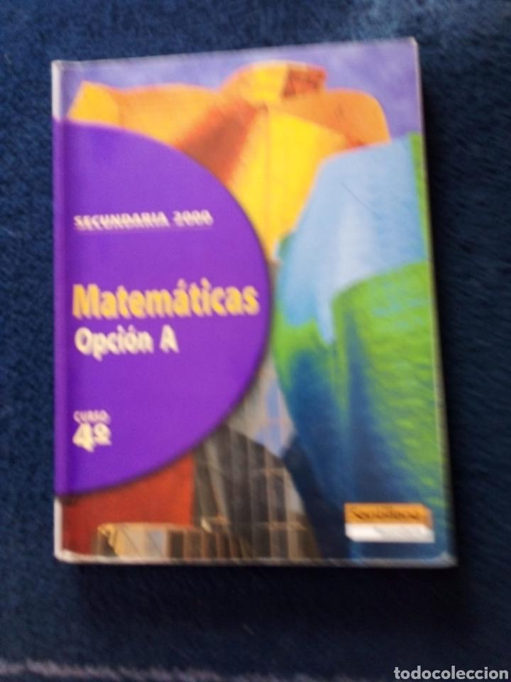 MATEMÁTICAS 4 ESO AÑO 1998 (Libros Nuevos - Libros de Texto - ESO)
