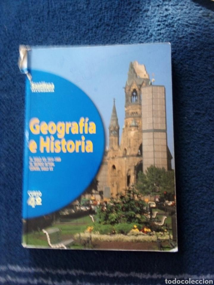 GEOGRAFÍA E HISTORIA ESO 1998 (Libros Nuevos - Libros de Texto - ESO)