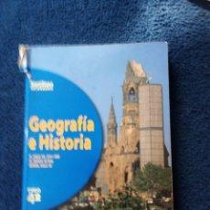 Libros: GEOGRAFÍA E HISTORIA ESO 1998. Lote 167168053