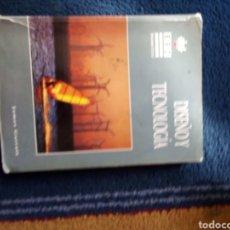 Libros: DISEÑO Y TECNOLOGÍA ESO 1997. Lote 167168262