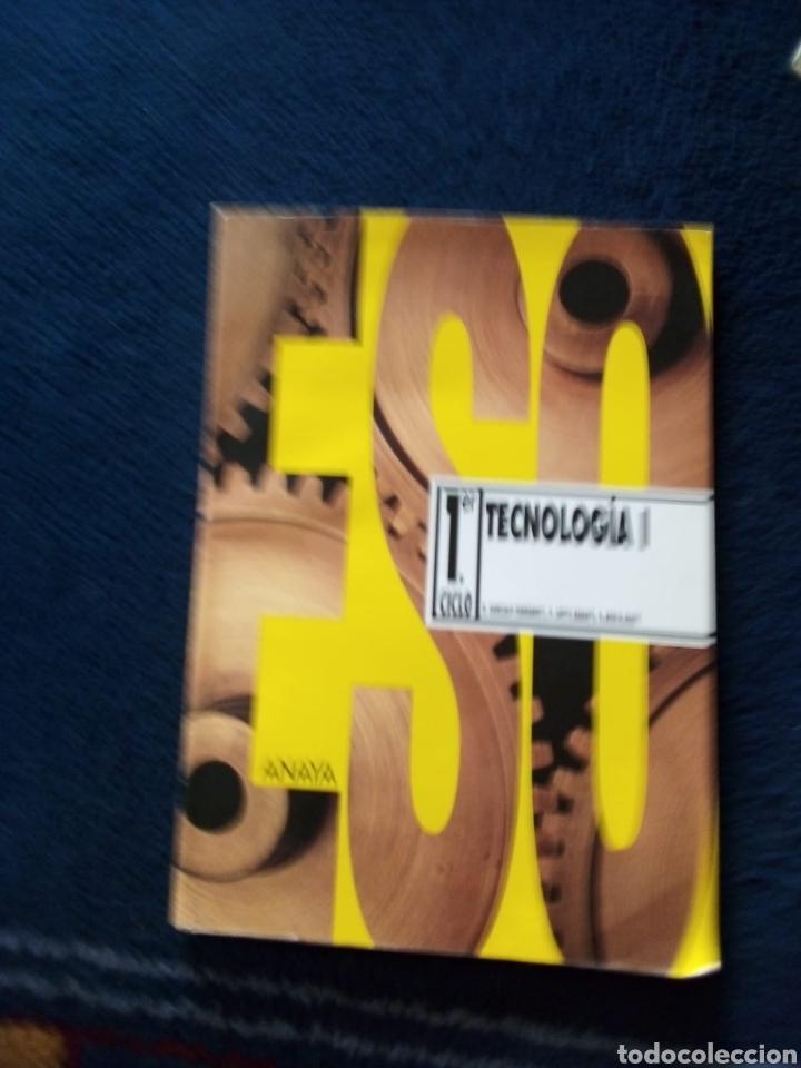 TECNOLOGÍA 1 ESO AÑO 1995 (Libros Nuevos - Libros de Texto - ESO)