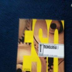 Libros: TECNOLOGÍA 1 ESO AÑO 1995. Lote 167168844