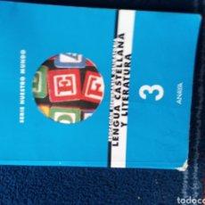 Libros: LENGUA CASTELLANA Y LITERATURA ESO AÑO 1997. Lote 167169809