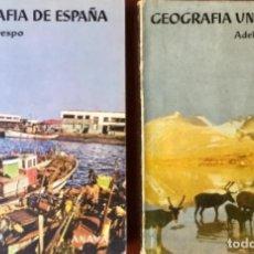 Libros: GEOGRAFIA DE ESPAÑA Y GEOGRAFIA UNIVERSAL. ANAYA. AÑO: 1963. SIN USAR.. Lote 167912932