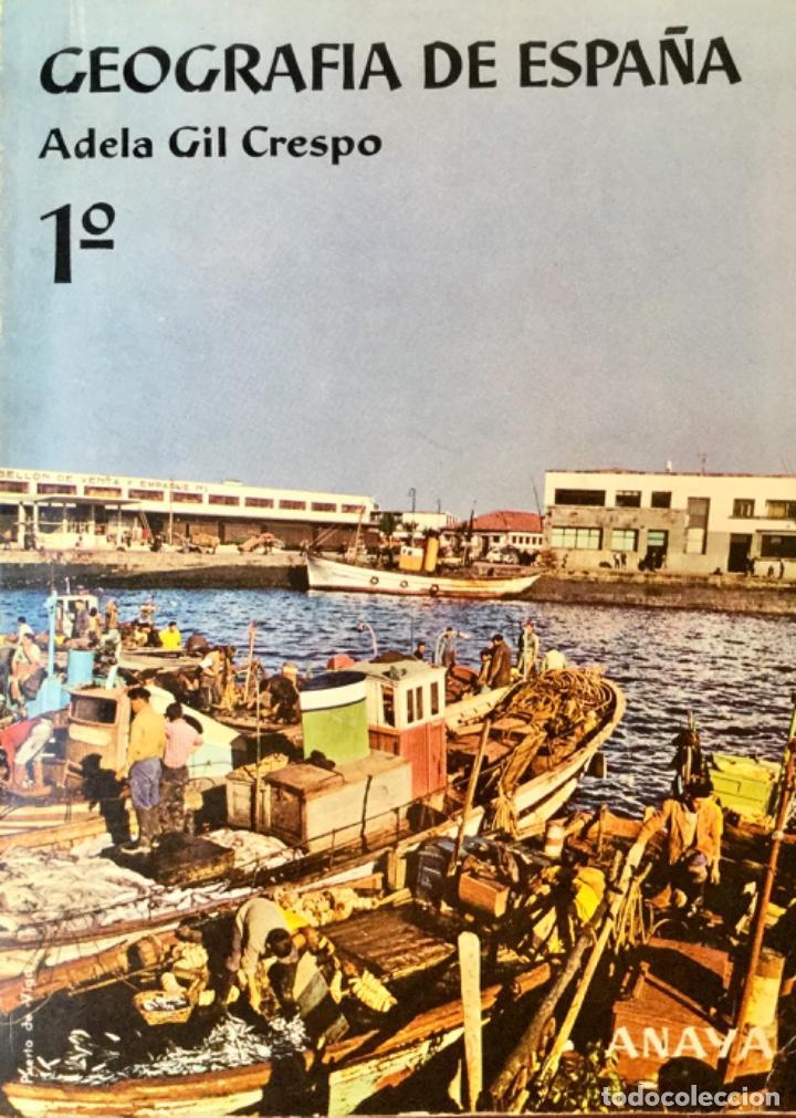 Libros: Geografia de España y Geografia Universal. ANAYA. Año: 1963. Sin Usar. - Foto 2 - 167912932