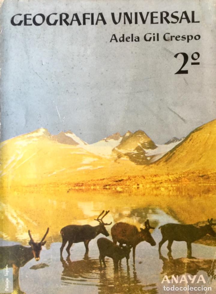 Libros: Geografia de España y Geografia Universal. ANAYA. Año: 1963. Sin Usar. - Foto 3 - 167912932