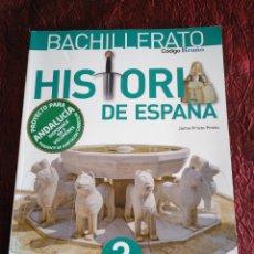 Libros: HISTORIA DE ESPAÑA 2°BACH. EDITORIAL BRUÑO. Lote 170086534