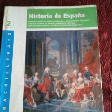 Libros: HISTORIA DE ESPAÑA 2°BACH. ALGAIDA. GRUPO ANAYA. Lote 170087373