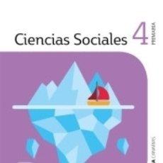 Libros: CIENCIAS SOCIALES 4 PRIMARIA SABER HACER CONTIGO. Lote 171326375