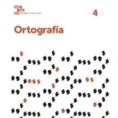 Libros: CUADERNOS ORTOGRAFÍA 4 PRIMARIA. Lote 171462030