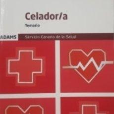Libros: TEMARIO CELADOR-A DEL SERVICIO CANARIO DE SALUD. Lote 171490842