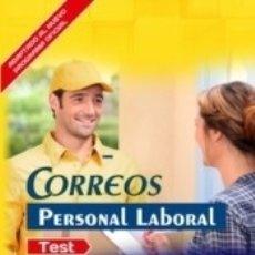 Libros: PERSONAL LABORAL DE CORREOS. TEST DEL TEMARIO. Lote 171503808