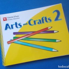 Libros: .ARTS AND CRAFTS 2 - VICENS VIVES - ( SIN ESTRENAR ). Lote 171733780