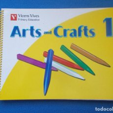 Libros: .ARTS AND CRAFTS 1 - VICENS VIVES - ( SIN ESTRENAR ). Lote 171734037